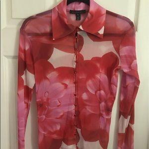 Weston Wear sheer blouse